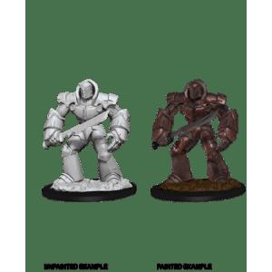 D&D Nolzurs Marvelous Miniatures - Iron Golem (6 Units)