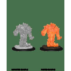 D&D Nolzurs Marvelous Miniatures - Fire Elemental (6 Units)