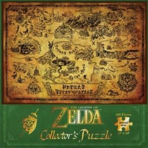 The Legend of Zelda Hyrule Map Puzzle 550 pc