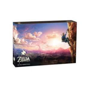 The Legend of Zelda Breath of the Wild Scaling Hyrule Puzzle 1000 pc