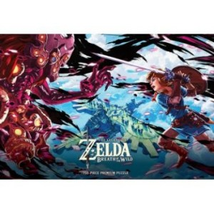 The Legend of Zelda Breath of the Wild Scourge of Vah Medoh Puzzle 750 pc