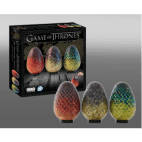 4D Cityscape - Game of Thrones Dragon Egg Puzzles Set