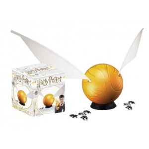 4D Cityscape - 6 Harry Potter Snitch Spherical Puzzle