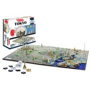 4D Cityscape - Tokyo. Japan Puzzle