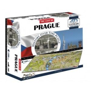 4D Cityscape - Prague Puzzle