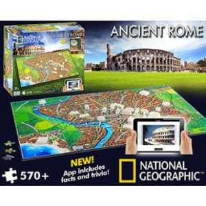 4D Cityscape - National Geographic: Ancient Rome Puzzle