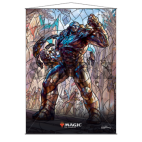 UP - Stained Glass Wall Scroll Magic: The Gathering - Karn
