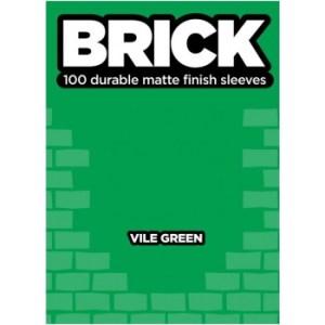 Legion - Brick Sleeves - Vile Green (100 Sleeves)
