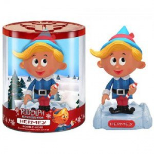 Funko - Rudolph the Red-Nosed Reindeer - Hermey The Elf 6-inch Bobble Head