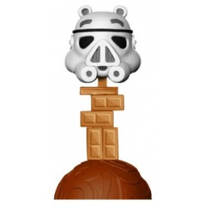 Angry Birds Star Wars Stormtrooper Pig 6-inch Wacky Wobbler Bobble Head