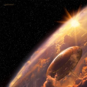 FFG - Star Wars: X-Wing: Bespin - Playmat