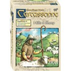 Carcassonne Exp 9: Hills & Sheep