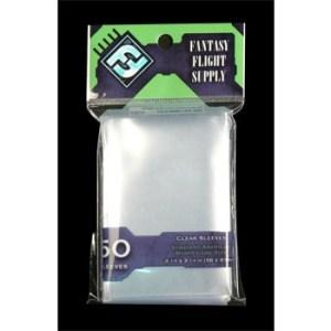 FFG Supply Clear Sleeves - Standard American Board Game (50 Sleeves)