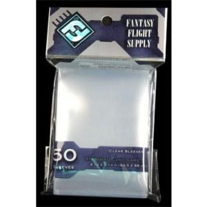 FFG Supply Clear Sleeves - Standard Card Game (50 Sleeves)