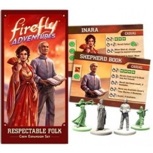 Firefly Adventures: Brigands & Browncoats Respectable Folk Expansion