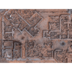 Kraken Wargames Gaming Mat - Desert Warzone City 30x22 Kill Team and Warcry 2.0