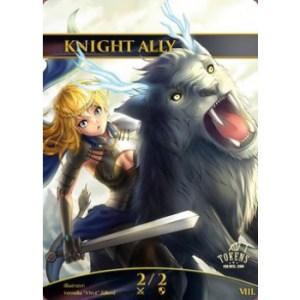 Tokens for MTG - Knight Ally Token (10 pcs)