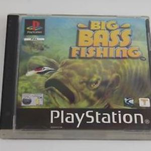 PS1: Big Bass fishing (CIB) (käytetty)