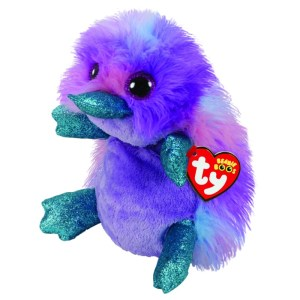 TY Beanie Boos - ZAPPY - purple platypus reg