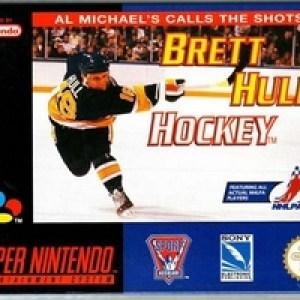 Retro: Brett Hull Hockey (käytetty)