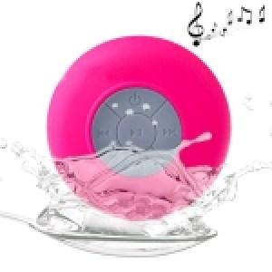 Waterproof Shower BTS-06 Mini Bluetooth Speaker (Pink)