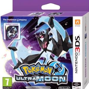 3DS: Pokemon Ultra Moon - Steelbook/Fan Edition
