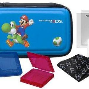 3DS: 3DS Essentials Pack 20 Black (Mario)