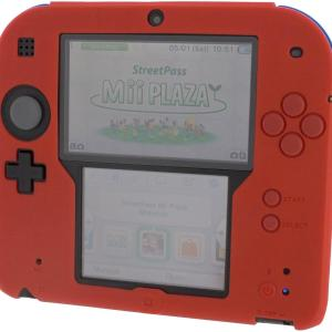 3DS: ZedLabz Silicone Protective Cover for Nintendo 2DS [Red]