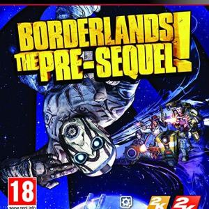 PS3: Borderlands: The Pre-sequel! (Includes Shock Drop Slaughter Pit Map DLC (käytetty)
