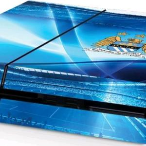 PS4: Official Manchester City FC - PlayStation 4 Konsoli-skin