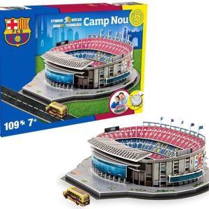 3D Stadium Puzzles - Barcelona Camp Nou