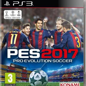 PS3: Pro Evolution Soccer (PES) 2017 (käytetty)