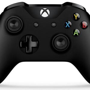 Xbox One: Xbox One NEW Black Ohjain Wireless (3.5mm Jack, Bluetooth, Windows 10 Capability)