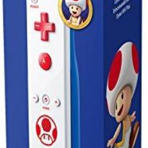 Wii U: Nintendo Remote Plus ** TOAD WHITE ** (Wii & Wii-U)