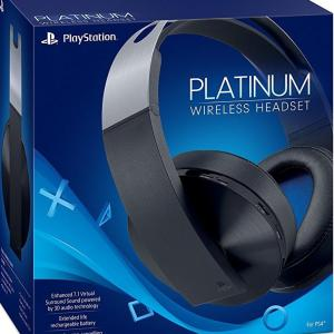 PS4: Sony Playstation 4 Platinum Wireless Headset
