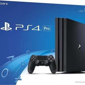 PS4: Playstation 4 PRO konsoli 1TB - Black (UK)