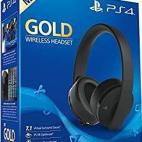PS4: Sony Official PS4 Wireless Gold Headset 7.1