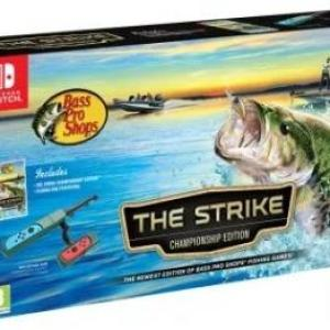 Switch: Bass Pro Shops: The Strike (Inc. Fishing Pole Peripheral)