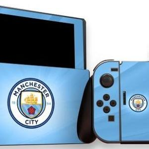 Switch: Official Man City FC - Nintendo Switch (konsoli & Ohjain) Skin