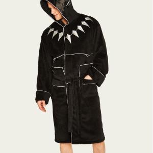 Marvel  Black Panther Hooded Adult Robe /Merchandise