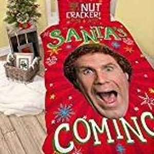 Elf Santa Yhden henkilön pussilakanasetti