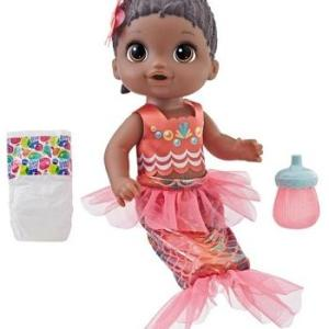 Baby Alive Shimmer N Splash Mermaid Black Hair