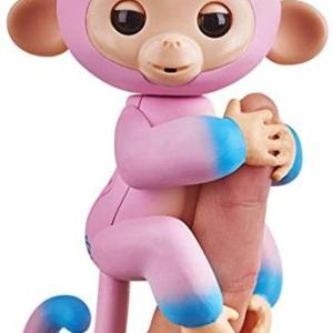 Fingerlings - Baby Monkey Ombre -Pink & Blue Candi /Figuuris