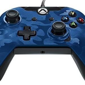 Xbox One: PDP Wired Ohjain – Blue Camo