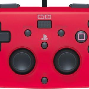 PS4: HORI Wired MINI Gamepad (Red)
