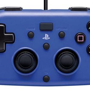 PS4: HORI Wired MINI Gamepad (Blue)