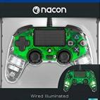 PS4: Nacon Wired Compact Ohjain [Light Green]
