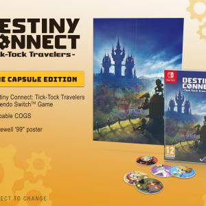 Switch: Destiny Connect: Tick-Tock Travelers (Time Capsule Edition)