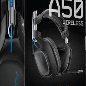 ASTRO Gaming A50 PS4 Wireless Headset 7.1 (Musta) (DAMAGED/MISSING CABLE AND STAND)