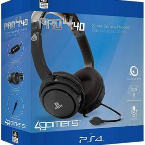 PS4: PRO4-40 Stereo Gaming Headset (4 Gamers) (Damaged Packaging / PS4